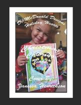 D. McDonald Designs Holiday Hearts Christmas Coloring Book