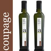Extra vierge olijfolie Coupage van de vier rassen  2 x 500 ml