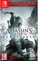 Cover van de game Assassins Creed III - Switch