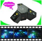 Led lichteffect en laser (Moonlight)