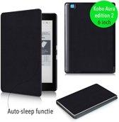 Smart magnetische flip hoes Kobo Aura editie 2 zwart