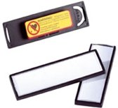 DURABLE Naambord CLIP CARD met magneet, kunststof, 25/VE, 67 x 17 mm