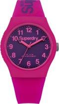 Superdry urban SYG164PV Vrouwen Quartz horloge