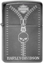 Aansteker Zippo Harley Davidson Zipper Skull