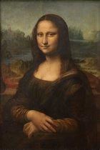 Mona Lisa | Leonardo da Vinci | Canvasdoek | Wanddecoratie | 40CM x 60CM | Schilderij