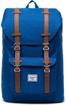 Herschel Supply Co. Little America Mid-Volume Rugzak 17L - Monaco Blue Crosshatch
