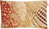 Dutch Decor Amana - Sierkussen - 30x50 cm - Taupe