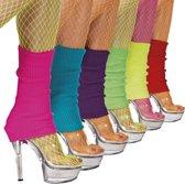 18 stuks: Beenwarmers in 6 kleuren - assorti