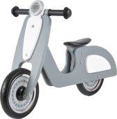Houten loopfiets Italian Rider grijs