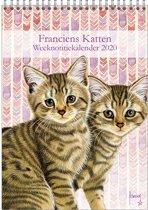 Weeknotitiekalender 2020 Franciens katten 'Kittens'