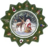 bol com   Villeroy  u0026 Boch Toy u0026#39;s Fantasy Schaal Kerstman Kerst   Rond   Groen