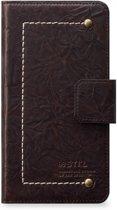 STI:L Vintage Rider Wallet Back Case Apple iPhone 7 / 8 Brown