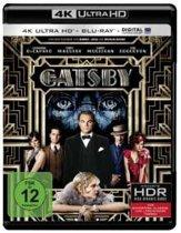 The Great Gatsby (2013) (Ultra HD Blu-ray & Blu-ray)