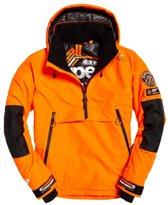 Superdry SD Mountain Overhead heren ski jas S Volcanic Orange