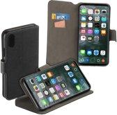 MP Case zwart book case style voor Apple iPhone X / XS wallet case