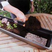 Watermat voor bloembakken met kunstmest - set van 2 stuks