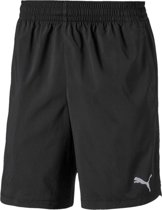 PUMA Woven Short Heren Sportbroek - Puma Black - Maat L