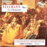 Telemann: Vol 1, La Changeante / Simon Standage
