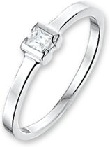 The Kids Jewelry Collection Ring Zirkonia - Zilver