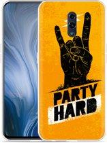 Oppo Reno Hoesje Party Hard 2.0