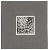 "D""rr UniTex Book Bound Album 23x24 cm grey"