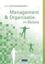 In Balans - Management en Organisatie Havo Antwoordenboek 1
