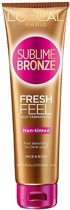 L'Oréal Paris Sublime Bronze Zelfbruinende Frisse Gel - 150ML