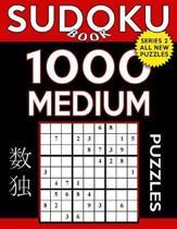 Sudoku Book 1,000 Medium Puzzles