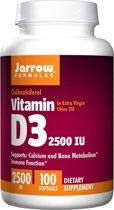 Jarrow Formulas Vitamine D3 2500IU