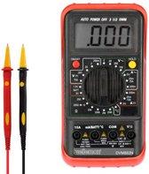 DIGITALE MULTIMETER - 24 BEREIKEN / CAT II 700 V - CAT III 600 V / DATA HOLD / AUTOMATISCHE UITSCHAKELING / TEMPERATUUR / 15 A AC & DC