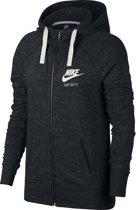 Nike W Nsw Gym Vntg Hoodie Fz Sportjas Dames - Bla