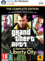 Grand Theft Auto IV (GTA IV) - Complete Edition - Windows