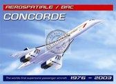 Mini muurplaatje Concorde 15x20cm