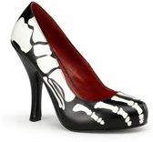 Halloween - Zwarte X-Ray pumps 41
