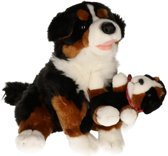 Pluche Berner Sennen knuffel hond 30 cm