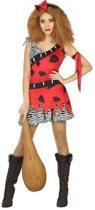 Holbewoonster verkleed kostuum dames - carnavalskleding - voordelig geprijsd XL (42-44)