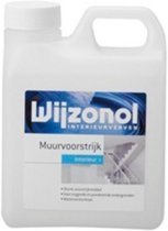 Wijzonol Interieurverven Muurvoorstrijk - 2,5 liter - Blank