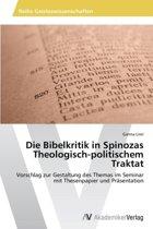 Die Bibelkritik in Spinozas Theologisch-Politischem Traktat