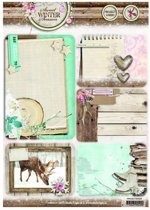 Studio Light project cards Sweet winter season A4 sws06