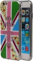 Apple iPhone 6 / 6s Hoesje Keizerskroon TPU