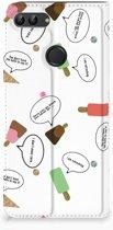 Huawei P Smart Standcase Hoesje Design IJsjes