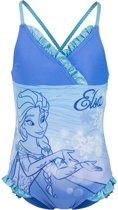 Frozen badpak aqua glans blauw maat 104