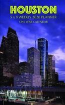 Houston 5 x 8 Weekly 2020 Planner: One Year Calendar