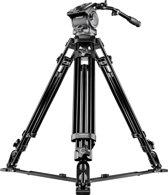 Mantona Dolomit 4000 Digitaal/filmcamera Zwart tripod