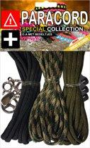 Paracord Set - Special Collection (Zwart / Leger / Groen)