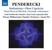 Penderecki: Sinfoniettas
