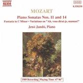 Mozart: Piano Sonatas 11&14
