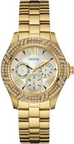 Guess Watches W0632L2 Shimmer - Horloge - Staal - Goudkleurig - 37 mm
