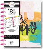Me and My Big Idea's - Happy Planner Big - Choose to Shine - 18mnd - Monthly Layout