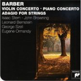 Barber: Violin Concerto; Piano Concerto; Adagio for Strings